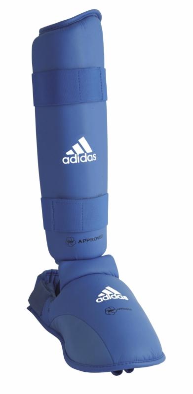 Bojová umění a sporty - Adidas WKF holeň a nárt 2017 - modré ef138ca90ab