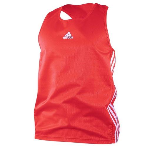Bojová umění a sporty - Tílko Adidas AIBA červené