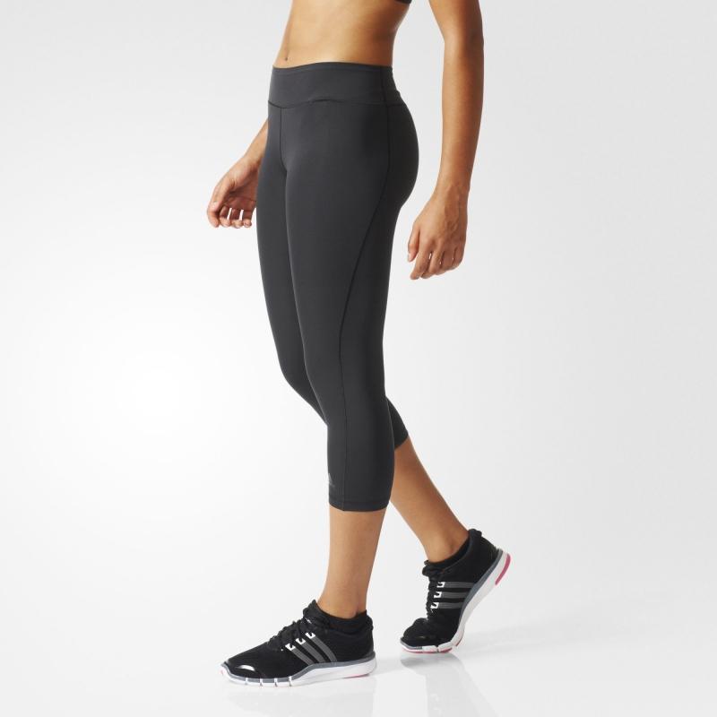 Legíny Adidas WO tights 3 4 černé  9d2af15799