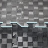 Tatami Hard - 2 cm - černá/šedá