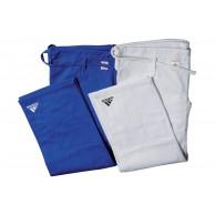 Adidas Judo IJF - kalhoty - bílé