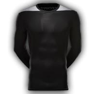 Tričko Adidas TechFit Base LS - dlouhý rukáv - černé