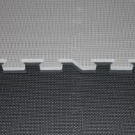 Tatami Cross - 2,5 cm - černá/šedá