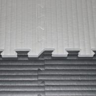 Tatami Judo dvouvrstvé - 4 cm - černá/šedá
