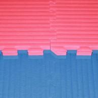Tatami Judo dvouvrstvé - 4 cm - modrá/červená