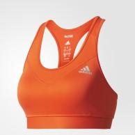 Sportovní podprsenka Adidas TechFit Bra oranžová