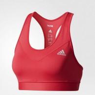 Sportovní podprsenka Adidas TechFit Bra růžová