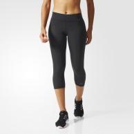 Legíny Adidas WO tights 3/4 černé