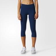 Legíny Adidas WO tights 3/4 tmavě modré